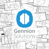 Storyboard - Gennion Solutions. A Stor, and board project by Ninio Mutante - 11.10.2014
