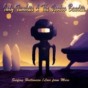 Album Cover: Indy Tumbita & The Voodoo Bandits. Un progetto di Illustrazione digitale di Paco Serén - 18.09.2018