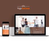 Yoga SuCasa website. A Art Direction, and Web Design project by Paula Mastrangelo - 06.18.2018
