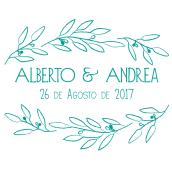 papelería boda. Un proyecto de Diseño gráfico de Andrea Goiez - 01.08.2017
