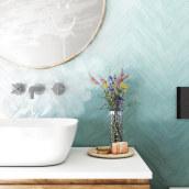 Detalle Baño. A 3D, Interior Architecture & Interior Design project by Sara Gonzalez - 09.01.2018