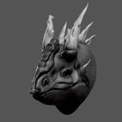 Black Dragon . Un projet de 3D, Modélisation 3D , et Conception de personnages 3D de Roman C. Ojer - 23.02.2018