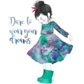 Mi Proyecto del curso: Dare to wear your Dreams. Un projet de Illustration de Anna Miró Solaní - 03.10.2018