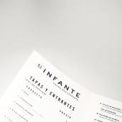 El infante. Brand identity.. Un progetto di Design, Direzione artistica, Br e ing e identità di marca di David Gaspar Gaspar - 03.10.2018
