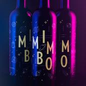 Mimbo Red Wine. Un proyecto de Br, ing e Identidad, Diseño gráfico, Packaging, Naming y Diseño de iconos de Víctor Montalbán - 06.11.2017