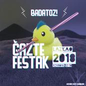 Gazte Festak. A 3-D und Grafikdesign project by Aitor Gonzalez Galarraga - 15.10.2018