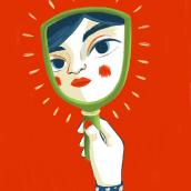 ESPEJITO, ESPEJITO. Un proyecto de Ilustración, Dirección de arte, Diseño editorial, Bellas Artes, Pintura, Creatividad, Dibujo e Ilustración digital de Irene Bofill García - 17.10.2018
