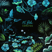 Cenotes. Un proyecto de Ilustración, Bellas Artes y Pintura de Lucila Dominguez - 19.10.2018