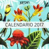 Calendario Revista Jardín. Un proyecto de Ilustración, Bellas Artes y Pintura de Lucila Dominguez - 22.10.2018