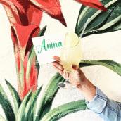 ANINA Mural. Un proyecto de Ilustración, Bellas Artes y Pintura de Lucila Dominguez - 22.10.2018