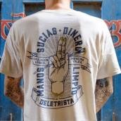 Estampación Camisetas para el rotulista El Deletrista. Un proyecto de Estampación de Print Workers Barcelona - 24.10.2018