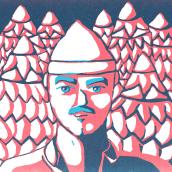 Mi Proyecto del curso: Ilustración original de tu puño y tableta. Un proyecto de Ilustración digital de erick el bárbaro - 31.10.2018