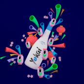 Yokai. A Design, Advertising, 3D, Art Direction, Character Design, Graphic Design, Packaging, Product Design, Web Design, Naming, 3D Animation, Creativit, and 3D Character Design project by Arantxa Gisbert - 06.01.2018
