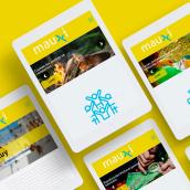 MAUXI - Editorial juvenil salesiana. A Editorial Design, Graphic Design, and Logo Design project by Florencia Morales - 11.06.2018