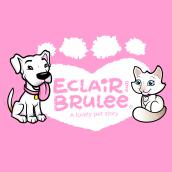 Eclair & Brulee. Un proyecto de Ilustración, Animación, Diseño de personajes y Diseño gráfico de felipe tascon muñoz - 05.11.2018