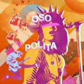 Fanzine Discográfica Oso Polita. A Design, Illustration, Music, and Audio project by Oscar Giménez - 11.06.2018