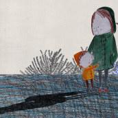 el bosc. Um projeto de Ilustração de Patricia Cornellana - 12.11.2018