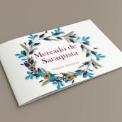 Mercado de Saraqusta. Proyectos de señalética.. Un projet de Design , Design graphique , et Signalisation de Marrow Design - 13.11.2018