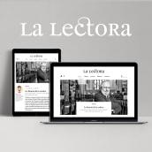 Revista La lectora. Un proyecto de Diseño, Ilustración, Diseño editorial y Diseño Web de Pack Up - 23.10.2018