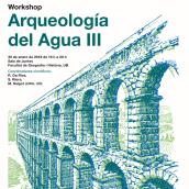 Workshop: Arqueología del agia / Cartel. Un projet de Direction artistique, Design graphique , et Conception d'affiche de Comunicom - 14.11.2018