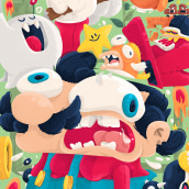 THE SUPER MARIO SUPER ART SHOW!. A Character Design project by Christian Michel - 11.19.2018