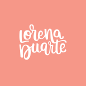 Mi Proyecto del curso: Lettering cursivo para logotipos. Um projeto de Design, Caligrafia e Lettering de Lorena Duarte - 23.11.2018