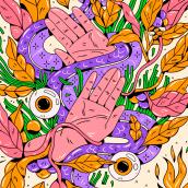 Práctica con Procreate. Un progetto di Illustrazione, Direzione artistica , e Character Design di Vals - 22.10.2018