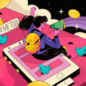Vice / #8M Repensar la sociedad . Un progetto di Direzione artistica e Illustrazione di Vals - 08.03.2018