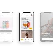 Untappd, drink socially. Um projeto de Design interativo e UI / UX de Pablo Chico Zamanillo - 26.11.2018