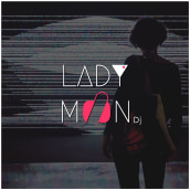 Lady Møøn Dj. A Br, ing & Identit project by Bárbara Ribes Giner - 11.27.2018