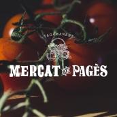 Mercat de Pagès / Idenidad corporativa. Un projet de Design , Direction artistique, Br, ing et identité, Design graphique, T , et pographie de Comunicom - 28.11.2018