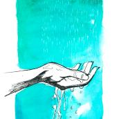 Olor a tierra mojada. Un proyecto de Ilustración y Pintura a la acuarela de Sara Alfaro - 30.10.2017