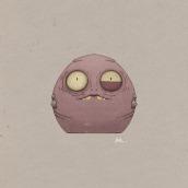 Lil´ monster. Un proyecto de Ilustración digital de Ana Rabadan - 30.11.2018