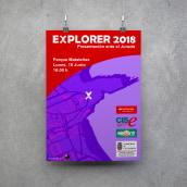 Explorer 2018. Un proyecto de Diseño gráfico de La GIStería - 19.06.2018