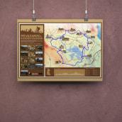Pedaleando el Románico Palentino. Un proyecto de Ilustración, Fotografía, Diseño gráfico e Infografía de La GIStería - 10.11.2017