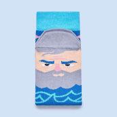 Diseño de calcetines para ChattyFeet. Un progetto di Illustrazione, Character Design, Packaging, Design Pattern , e Fashion Design di Jota Han - 28.12.2018