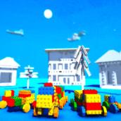 Brick Town Cars. Un proyecto de 3D de Juan Carlos Granados Cardona - 28.12.2018