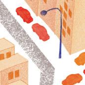 Huerto urbano. Un proyecto de Ilustración de Luis Linares Izquierdo - 10.11.2018