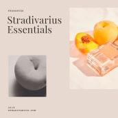 Stradivarius Essentials   Packaging. Un proyecto de Dirección de arte, Diseño gráfico y Packaging de Andrea Arqués - 31.12.2018
