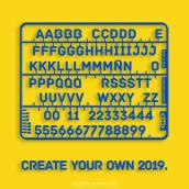 Construye tu propio 2019. Un progetto di Illustrazione, Direzione artistica, Graphic Design , e Ritocco fotografico di Alberto Cuartones - 05.01.2019