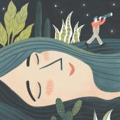 La búsqueda. Um projeto de Ilustração e Ilustração digital de Laura Fernández Arquisola - 08.01.2019