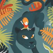 GIRLS & ANIMALS. Um projeto de Ilustração e Ilustração digital de Laura Fernández Arquisola - 08.01.2019
