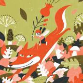 Chiquiocio Otoño. Um projeto de Ilustração e Ilustração digital de Laura Fernández Arquisola - 08.01.2019