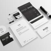 IMAGEN CORPORATIVA - RATTIO/ESTUDIO. A Br, ing, Identit, and Logo Design project by Brayan Torres - 01.08.2019