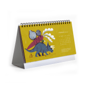 Lugares a los que viajar en sueños - Calendario 2019. A Illustration project by Mar Hernández - 01.10.2019