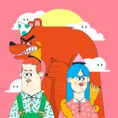 MÁS COSAS 2D. Un progetto di Illustrazione, Direzione artistica , e Character Design di Aarón Martínez - 11.01.2019