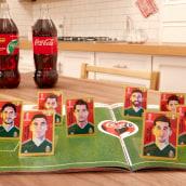 Coca Cola / PANINI / RUSSIA 2018 / Klint & Photo. A Animation project by Gerardo Montiel Klint - 06.01.2018