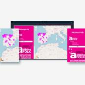 Mapa de Festivales Folk. Un proyecto de Desarrollo Web, Diseño Web y UI / UX de La GIStería - 15.01.2019