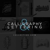 Lettering & Caligrafía 2018. A Kalligrafie, Design und Lettering project by Daniel Hosoya - 20.01.2019