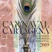 Propuesta cartel Carnaval Cartagena. Um projeto de Criatividade e Design de Carmen Montiel Ramón - 20.01.2019